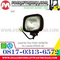 Jual LAMP ASSY FORKLIFT TCM FD35 50T8 24V 2