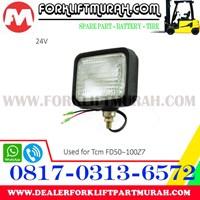 Jual LAMP ASSY TCM FORKLIFT FD50 100Z7 24V 2