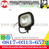 Jual LAMP ASSY FORKLIFT TOYOTA 6 7FD 12V 2