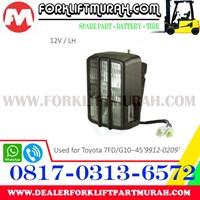 Distributor LAMP ASSY FORKLIFT TOYOTA 7FD G10 12V LH 3