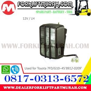LAMP ASSY FORKLIFT TOYOTA 7FD G10 12V LH