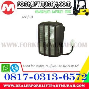 LAMP ASSY FORKLIFT TOYOTA NEW 7FD G10 12V LH