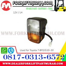 LAMP ASSY FORKLIFT ORANGE TOYOTA 7 8FD 12V LH