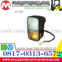 LAMP ASSY FORKLIFT ORANGE TOYOTA 7FB10 30 LH 48V