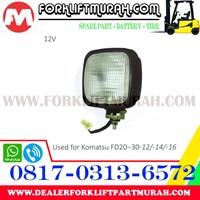 LAMP ASSY FORKLIFT KOMATSU FD20 30 12 12V 1