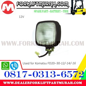 LAMP ASSY FORKLIFT KOMATSU FD20 30 12 12V