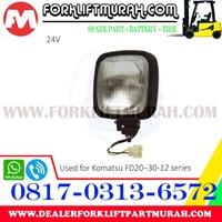 Jual LAMP ASSY FORKLIFT KOMATSU FD20 30 12 24V 2