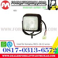 Jual LAMP ASSY FORKLIFT KOMATSU FB15 18 12 48V 2