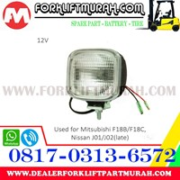 Jual LAMP ASSY FORKLIFT MITSUBISHI F18B F18C 2