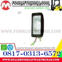 LAMP ASSY FORKLIFT MITSUBISHI CATERPILLAR FD G20 12V  1