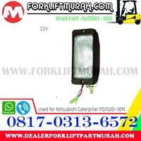 Jual LAMP ASSY FORKLIFT MITSUBISHI CATERPILLAR FD G20 12V  2
