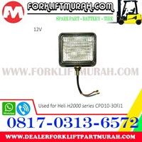 Beli LAMP ASSY FORKLIFT HELI H2000 CPCD10 12V 4