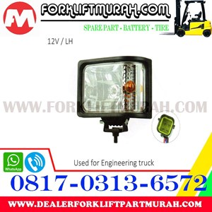 LAMP ASSY FORKLIFT FOR ENGINEERING TRUCK 12V LH