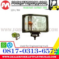 Jual LAMP ASSY FORKLIFT FOR ENGINEERING TRUCK 12V RH 2
