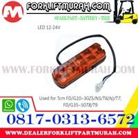 LAMP ASSY FORKLIFT ORANGE TCM FD LED 12 24V Murah 5