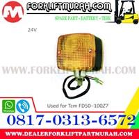 Jual LAMP ASSY FORKLIFT ORANGE TCM FD50 100Z7 24V 2
