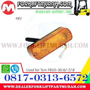 LAMPU SIGNAL FORKLIFT ORANGE TCM FB10 30 6 48V