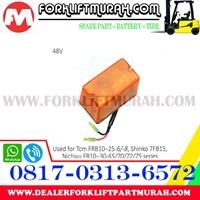 LAMPU SIGNAL ORANGE TCM FRB10 25 6 48V Murah 5