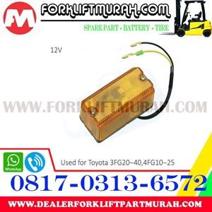 LAMPU SIGNAL FORKLIFT TOYOTA 3FG20