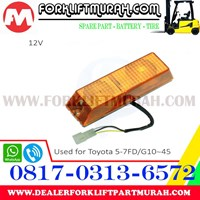 Jual LAMP SIGNAL FORKLIFT TOYOTA 5 7FD G10 45 2