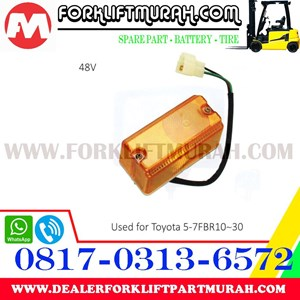 LAMP SIGNAL FORKLIFT TOYOTA 5 7FBR10 30