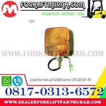 LAMPU SIGNAL FORKLIFT ORANGE HELI A H2000 CPC D 10 35 12V