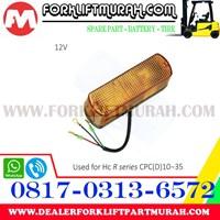 LAMPU SIGNAL FORKLIFT ORANGE HC R CPC D 10 35 12V 1