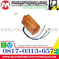 Distributor LAMPU SIGNAL FORKLIFT ORANGE TAILIFT 7L FD G15 35 12V 3