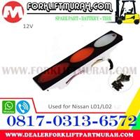 Jual LAMPU SIGNAL FORKLIFT  NISAN L01 L02 12V 2