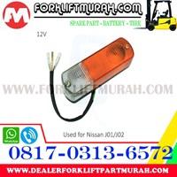 LAMPU SIGNAL FORKLIFT FRONT NISAN J01 J02 12V 1