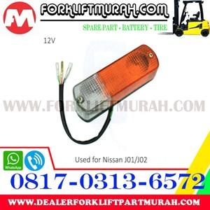 LAMPU SIGNAL FORKLIFT FRONT NISAN J01 J02 12V