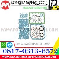 Distributor SEAL KIT FORKLIFT TOYOTA 7FD G10 30 0210 3