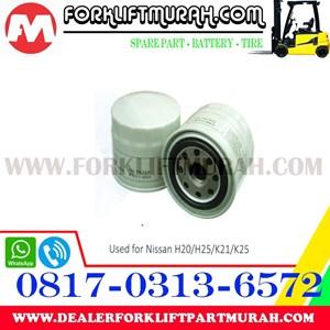 FILTER OLI FORKLIFT  NISAN H20 H25 K21 K25