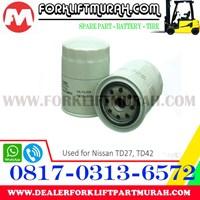 Distributor FILTER OLI FORKLIFT NISAN TD27 TD42 3