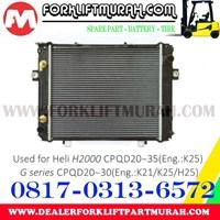 RADIATOR FORKLIFT HELI H2000 CPQD20 35 G CPQD20 30 1