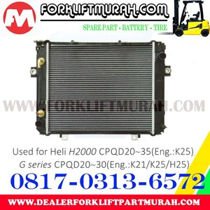RADIATOR FORKLIFT HELI H2000 CPQD20 35 G CPQD20 30