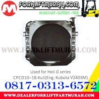 Beli RADIATOR FORKLIFT HELI G CPCD10 18 KU1 4