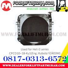RADIATOR FORKLIFT HELI G CPCD10 18 KU1