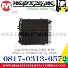 RADIATOR FORKLIFT HELI G CPCD20 35 D1 H2000 CPCD20 35 D2