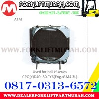 Distributor RADIATOR FORKLIFT HELI H CPD D40 50 TY6 3