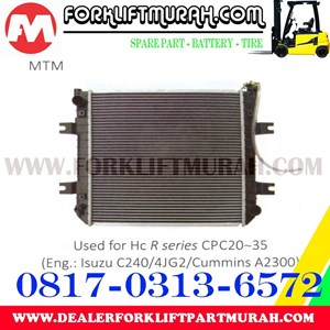 RADIATOR FORKLIFT HC R CPC20 35