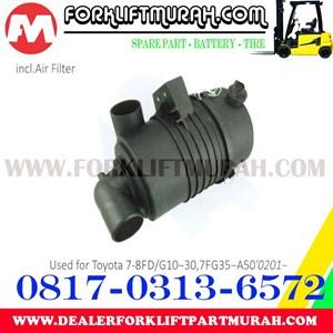 RUMAH FILTER FORKLIFT TOYOTA 7 8FD G10 30 7FG35 A50 0201