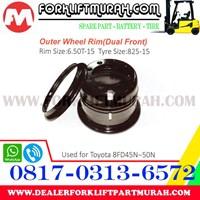 Distributor JUAL VELG OUTER FORKLIFT TOYOTA 8FD45N 50N 3