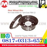 Distributor JUAL VELG FORKLIFT TOYOTA 7FD35 50 3