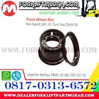 Distributor JUAL VELG FRONT FORKLIFT NICHIYU FB20 25 65 70 72 75 3