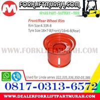 Distributor JUAL VELG FORKLIFT LINDE 322 355 336 350 03 386 3
