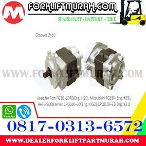 POMPA HIDROLIS FORKLIFT TCM FG20 30T6 MITSUBISHI FG15N HELI H2000 CPCD20 30 CPQD20 25