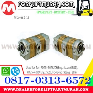 POMPA HIDROLIS FORKLIFT TCM FD45 50T8 FD35 40T9 FD45 50T9