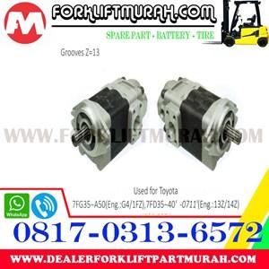 POMPA HIDROLIS FORKLIFT TOYOTA 7FG35 A50 7FDKU40 7FDU35 7FDU45 7FGCU35 55