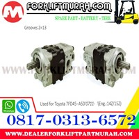 Distributor POMPA HIDROLIS FORKLIFT  TOYOTA 7FD45 A50 0711. 3